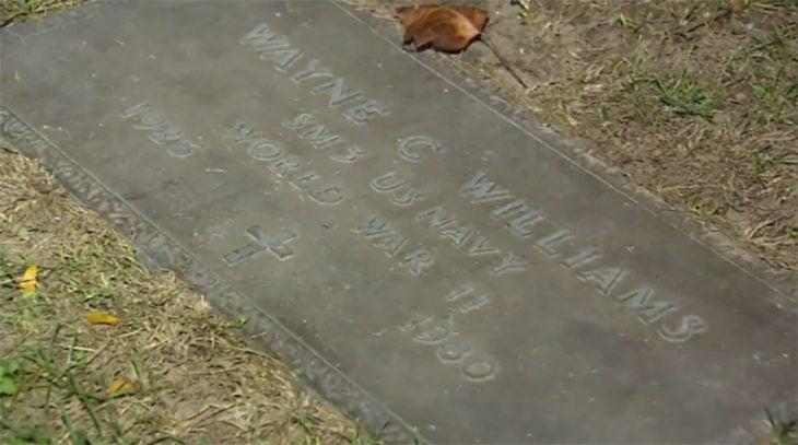 Lápida de Wayne Williams