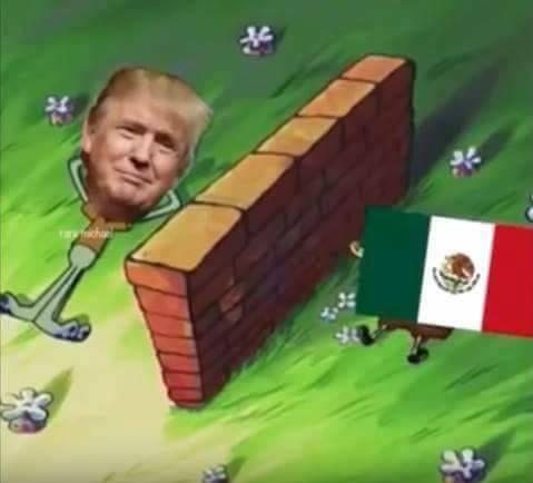 trump muro meme