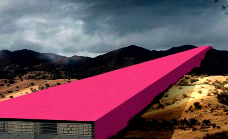 Arquitectos mexicanos muestran cómo se vería muro de Trump