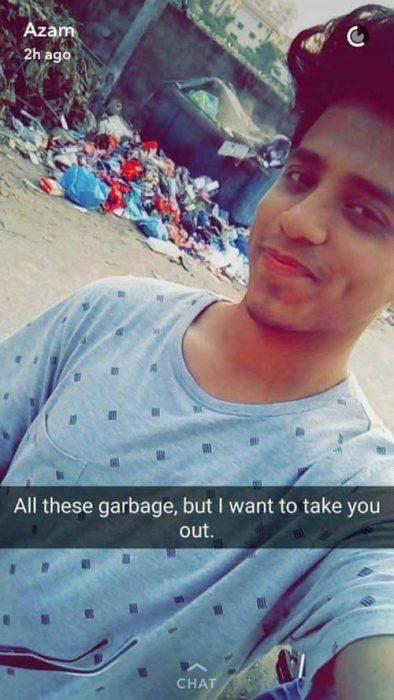 basura meme snapchat