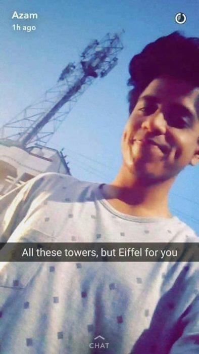 Le rompieron el corazón y volvió a la carga con más Snapchat