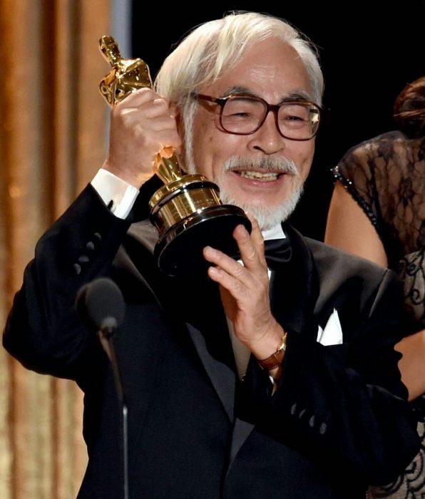 Hayao Miyazaki ganador del Oscar