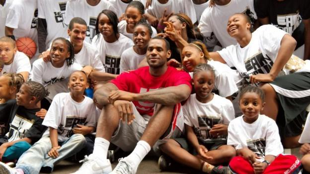 i rpomise lebron james
