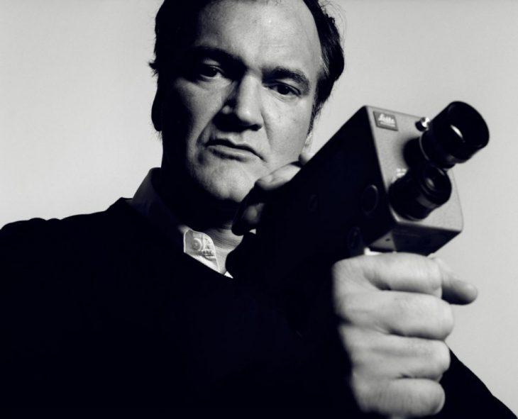 Quentin Tarantino con su cámara