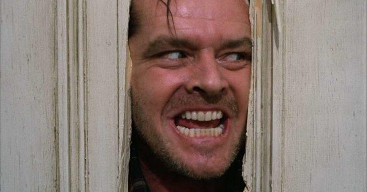 Jack Nicholson en El Resplandor