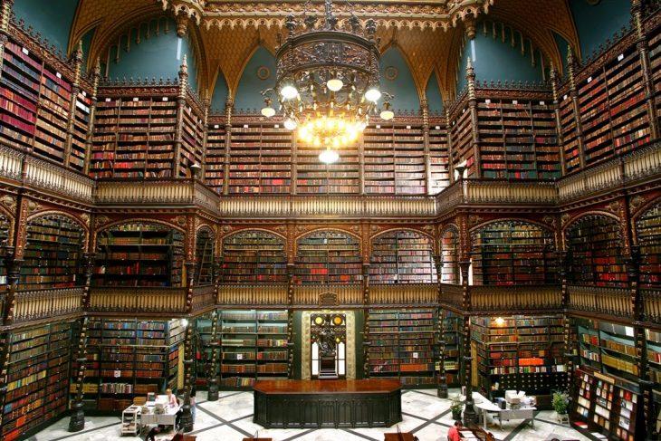 Sala de Lectura Real Portuguesa, en Río de Janeiro