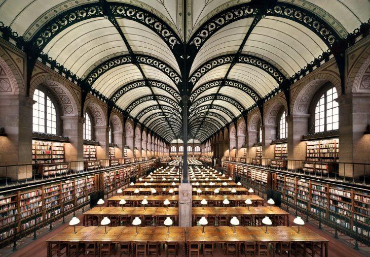 Biblioteca Sainte-Geneviève, en París