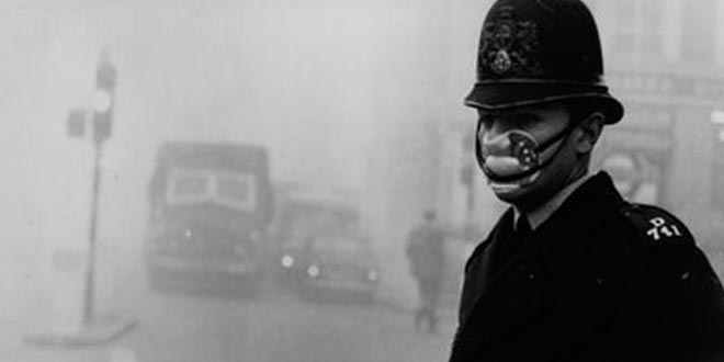 Neblina mortal Londres