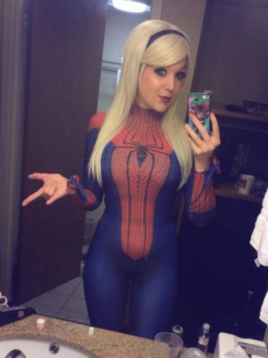 Spiderman girl