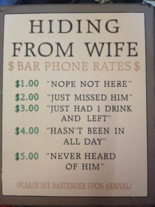 letrero bar esposa