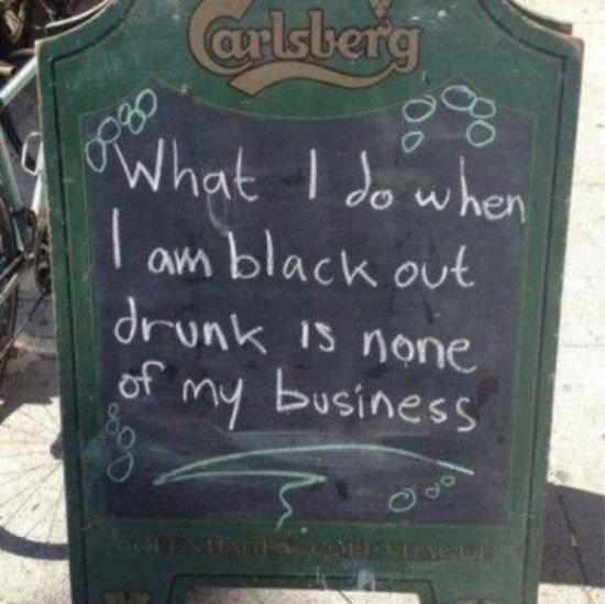 letrero bar carlsberga