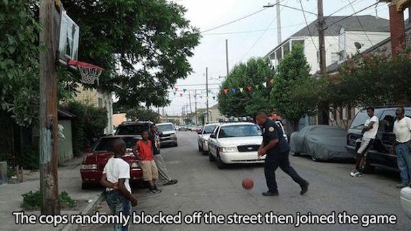 policia basquet
