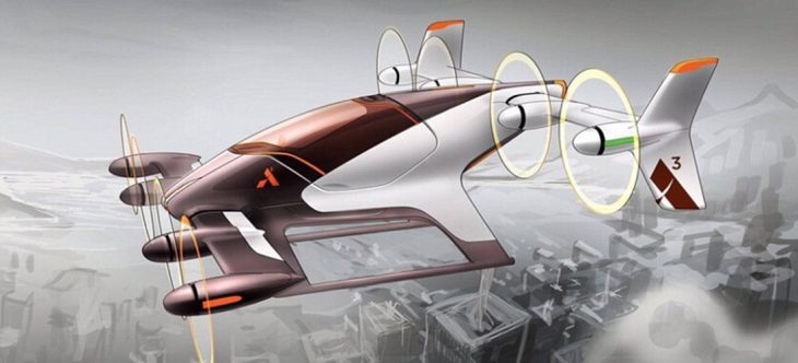 Taxi volador de Airbus