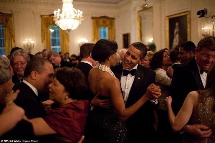 obama bailando