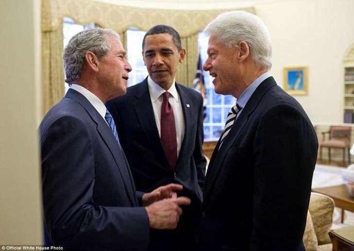 obama y otros presidentes