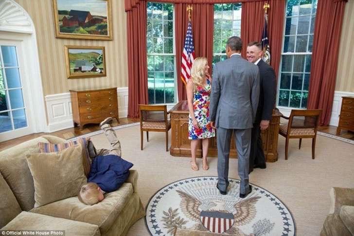obama en oficina