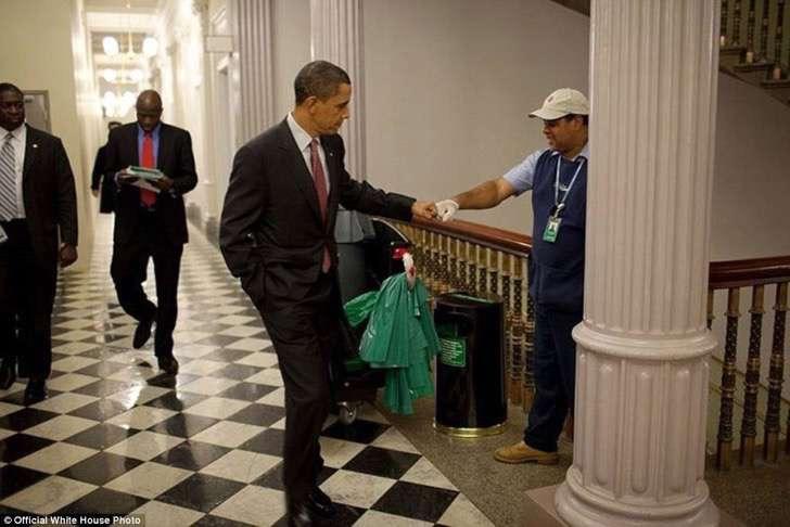 obama trabajador