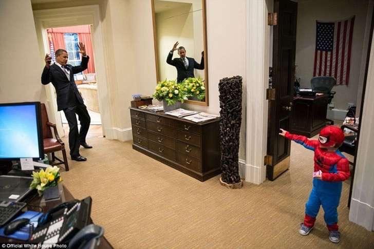 obama en sala