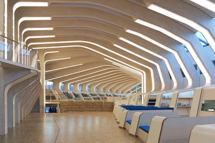 Biblioteca y Centro Cultural Vennesla, en Vennesla