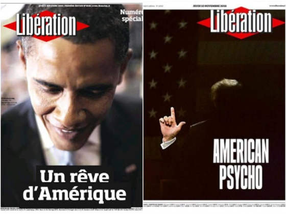 francia portadas trump