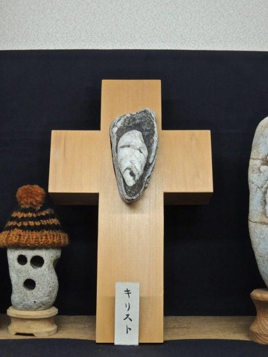 cara piedra cristo