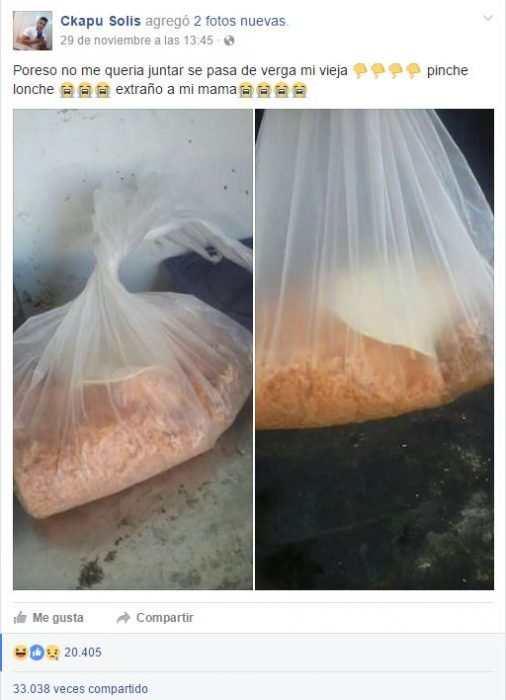 queja del arroz