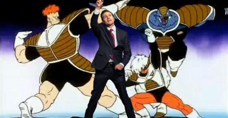peña dragon ball