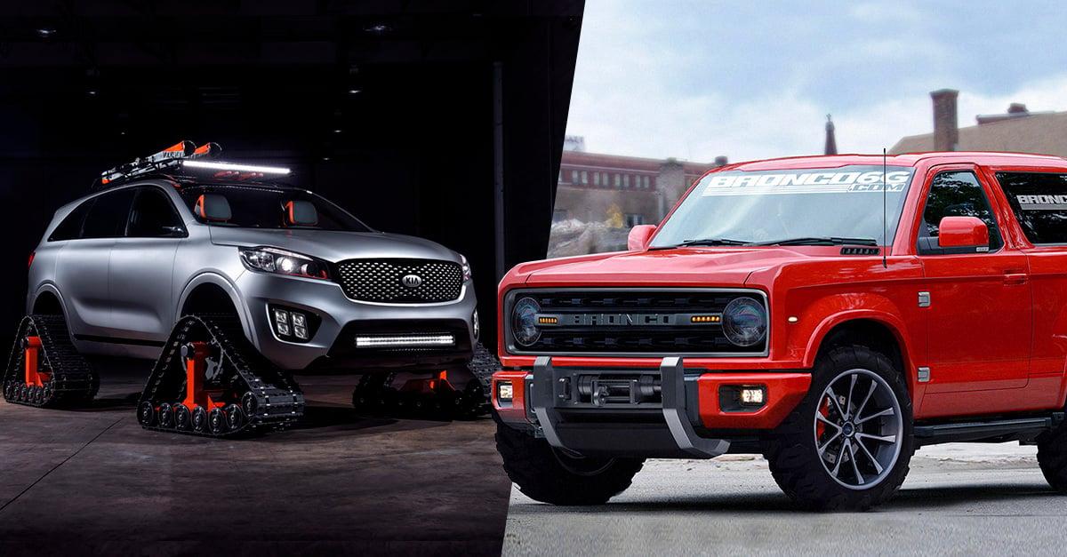 2016 Ford Bronco >> Las camionetas todo terreno que todo hombre debería tener