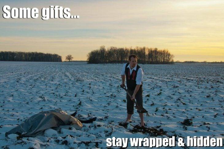 Crea tarjetas de navidad ebrio