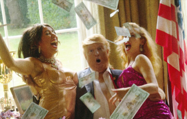Trump billetes