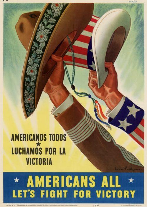 Propaganda mexicana antinazi