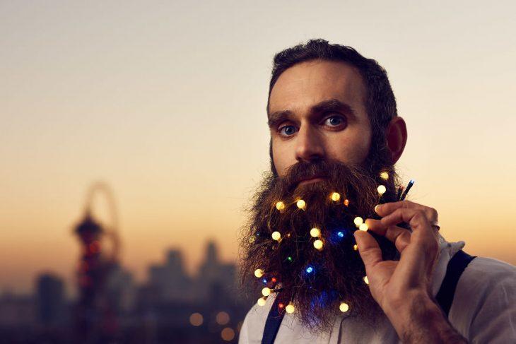 barbas con foquitos