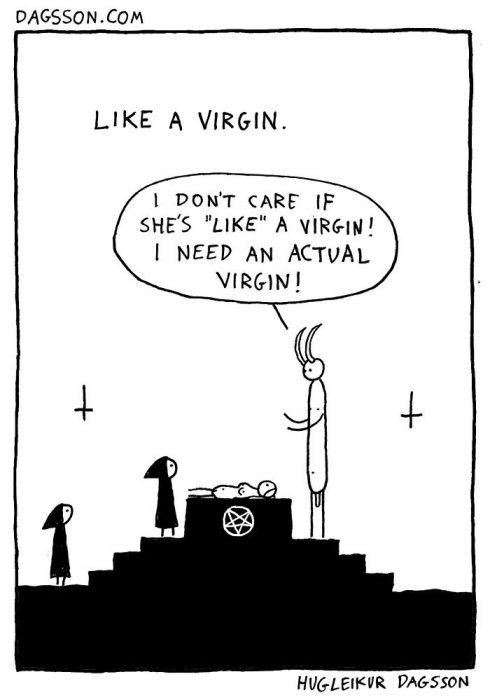virgen carton