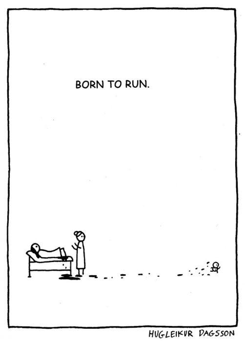 born to run carton