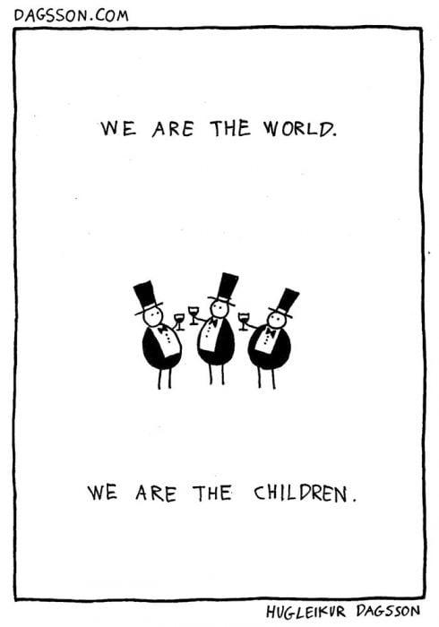 we are tehe world