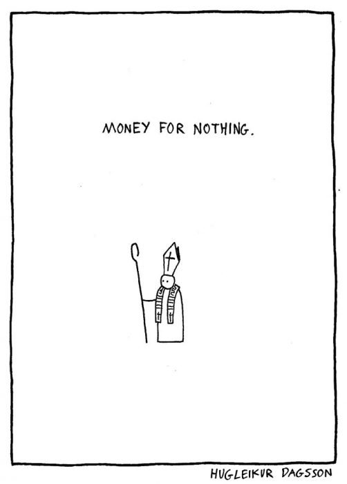 money for nothing carton