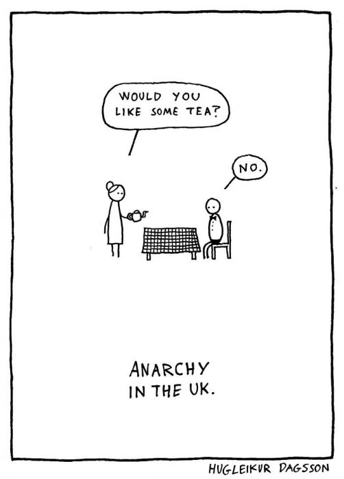 anarquy caricatura