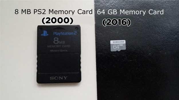 tarjetas memoria