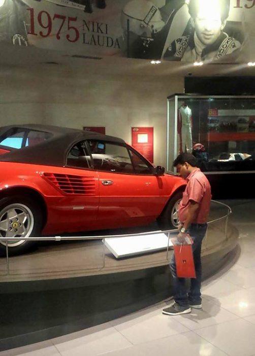 Visita al parque Ferrari en Abu Dhabi