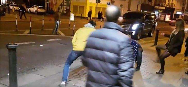 Pelea en la calle