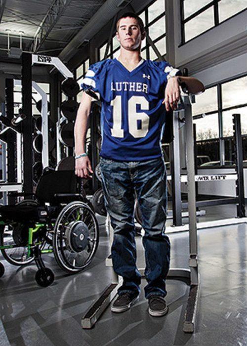 Chris Norton exjugador de futbol americano