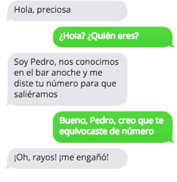 Mandando mensajes a números equivocados