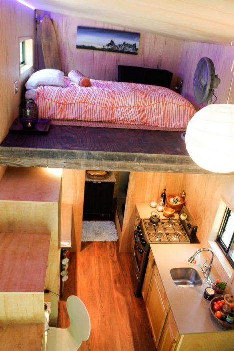 Mini casa-remolque