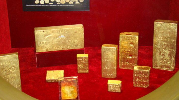 barras oro