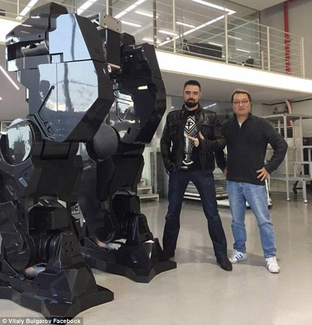 piernas robot