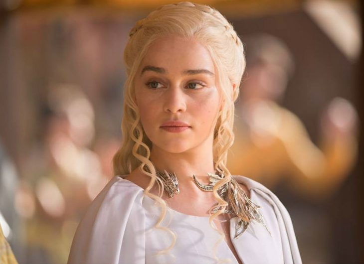 Emilia Clarke en Game of Thrones