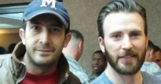 chris evans y fan