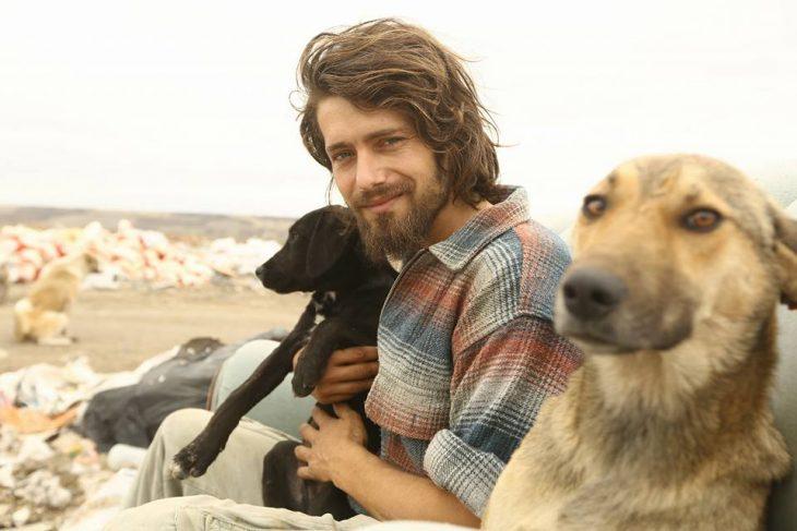 Turco y perros