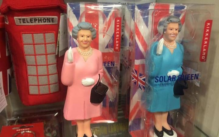 Figuras de la reina de Inglaterra