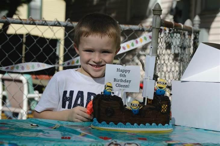Glen Buratti celebró su cumpleaños 6